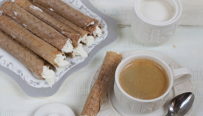Как наполнить трубочки сгущенкой без шприца — Рецепты на все вкусы